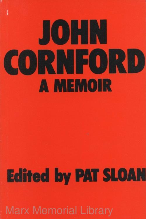 John Cornford: A Memoir