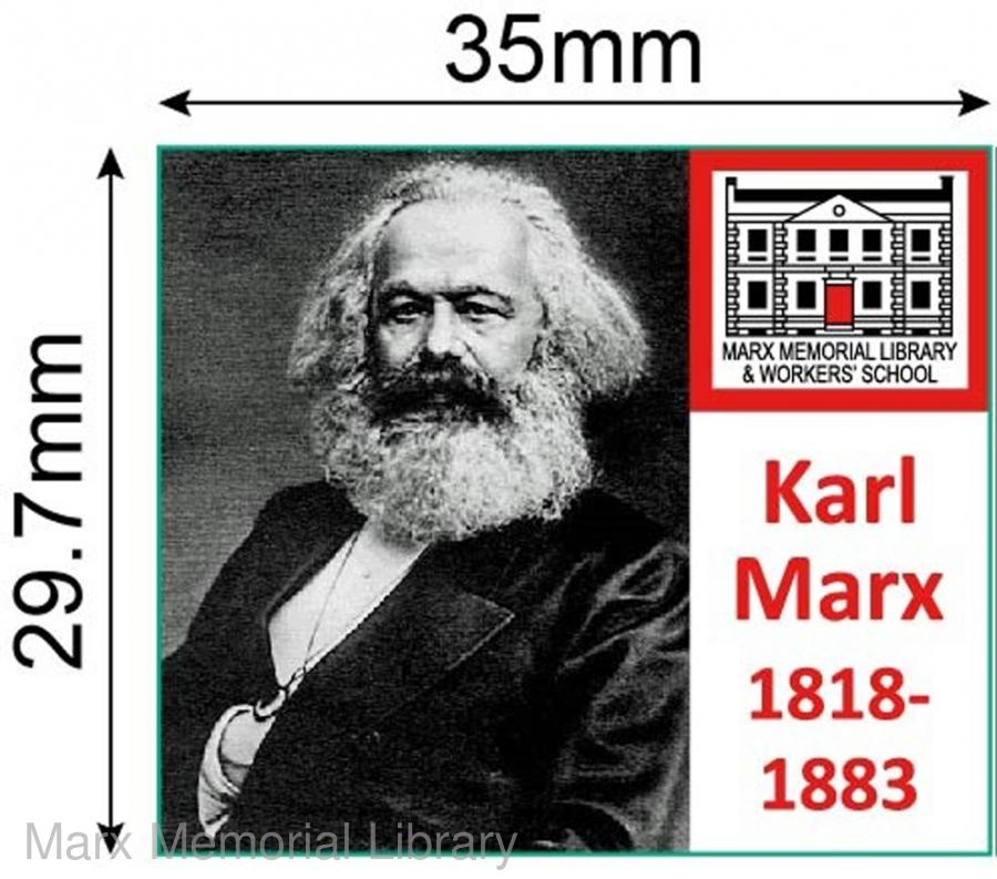 Marx badge (square)