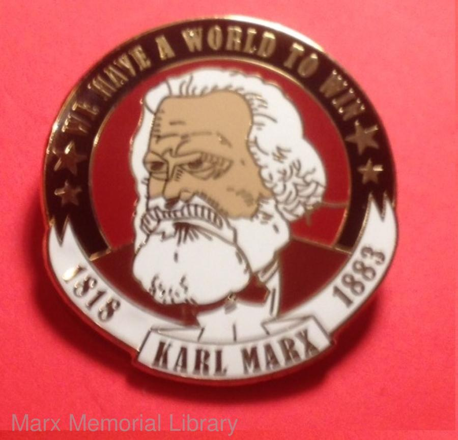 Marx badge [round]