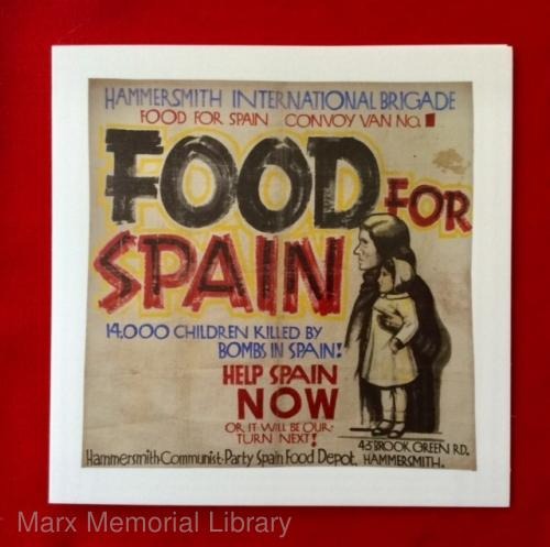 Banners for Spain card - Food for Spain (text and image)
