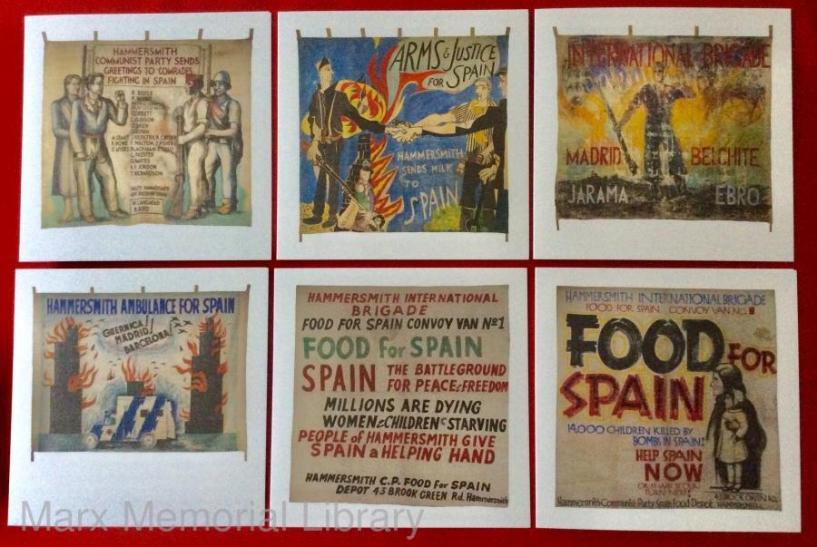 Cards - Spanish Civil War Solidarity Banners