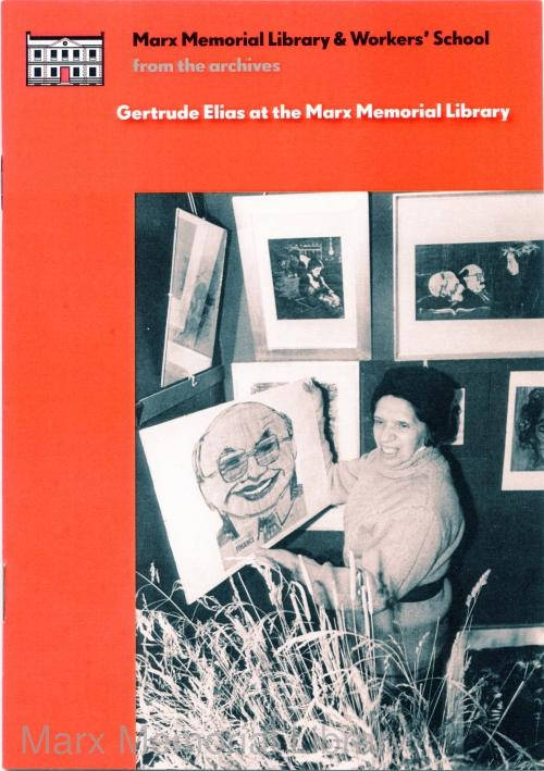 Gertrude Elias pamphlet